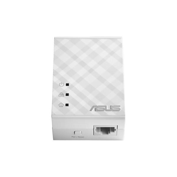 ASUS PL-N12 Kit 500Mbit/s Collegamento ethernet LAN Wi-Fi Bianco 2pezzo(i)