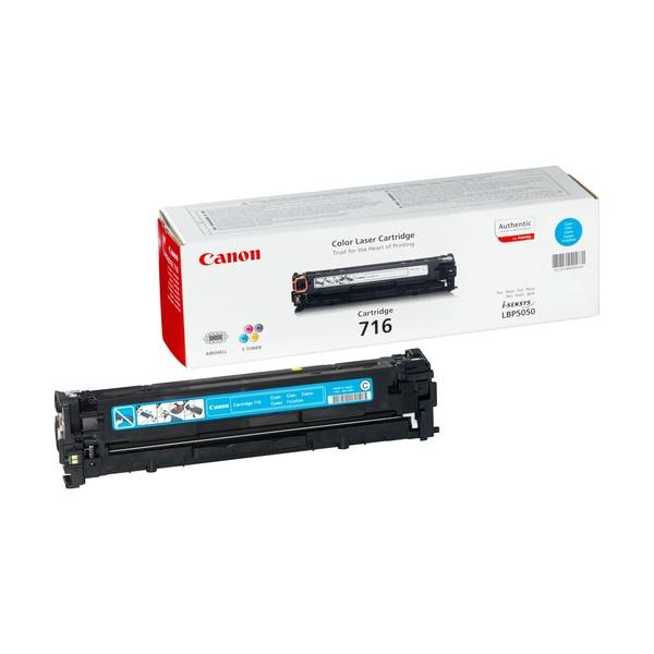 Canon 716 Cyan Laser cartridge 1500pagine Ciano
