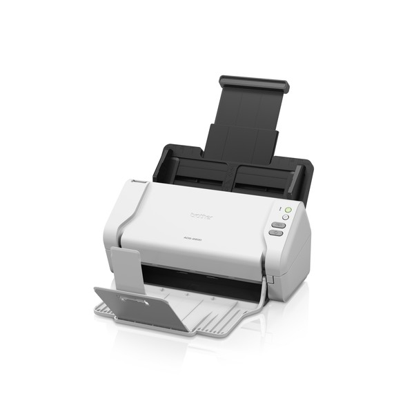 Brother ADS-2200 ADF scanner 600 x 600DPI A4 Nero, Bianco scanner
