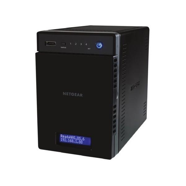 Netgear ReadyNAS 214 NAS Collegamento ethernet LAN Nero