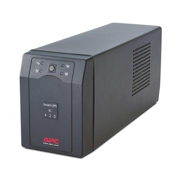 APC Smart-UPS A linea interattiva 420VA 4presa(e) AC Torre Grigio gruppo di continuità (UPS)