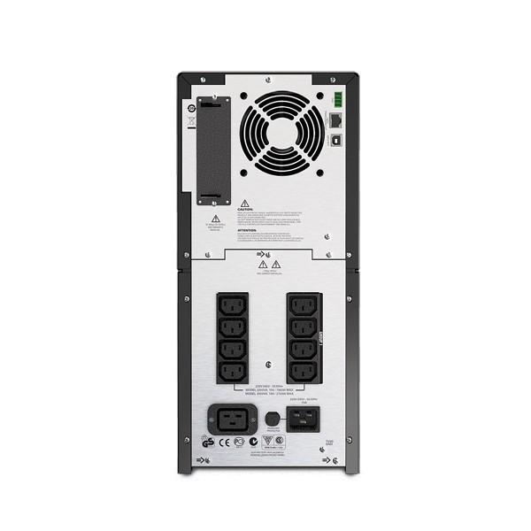 APC Smart-UPS A linea interattiva 2200VA 9AC outlet(s) Torre Nero gruppo di continuità (UPS)