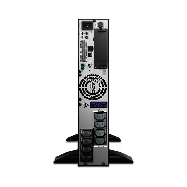 APC Smart-UPS A linea interattiva 1000VA 8presa(e) AC Montaggio a rack/Torre Nero gruppo di continuità (UPS)