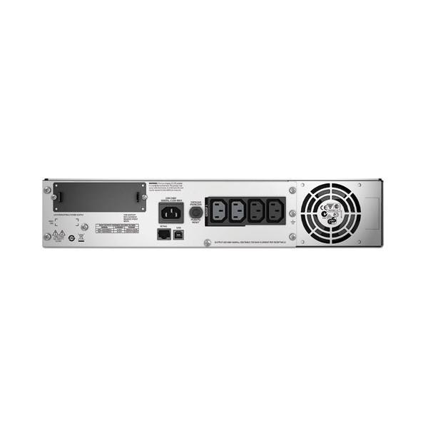 APC Smart-UPS A linea interattiva 1500VA 4presa(e) AC Montaggio a rack Nero gruppo di continuità (UPS)
