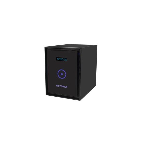 Netgear ReadyNAS 316 Mini Tower Collegamento ethernet LAN Nero