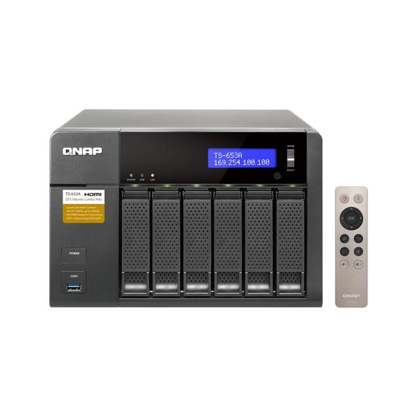 QNAP TS-653A NAS Torre Collegamento ethernet LAN Nero
