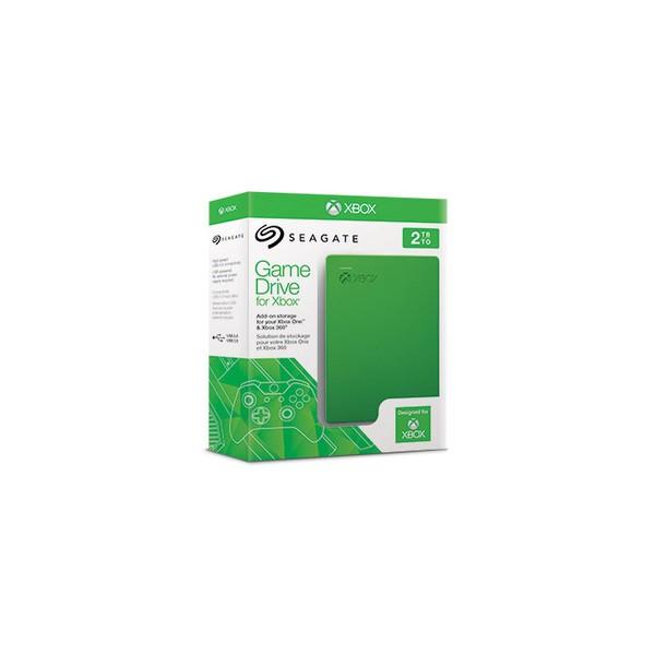 Seagate Game Drive 2TB USB 3.0 2000GB Verde disco rigido esterno