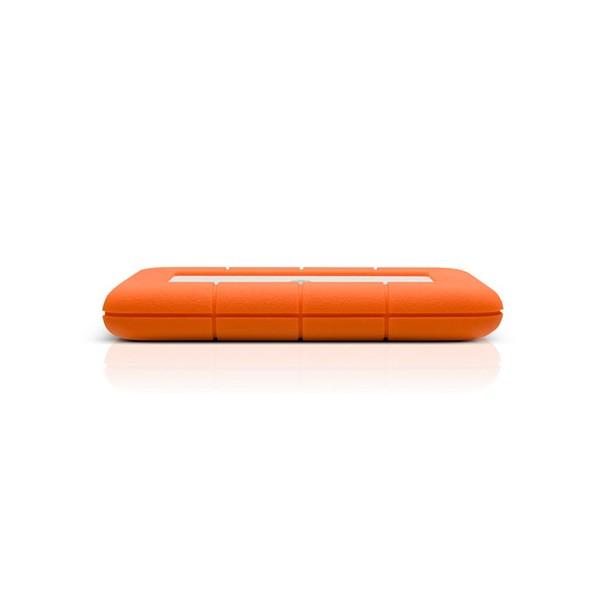 LaCie Rugged Mini, 2TB 2000GB Alluminio, Arancione disco rigido esterno