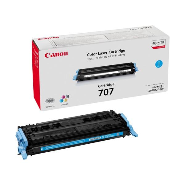 Canon 707 Laser cartridge 2000pagine Ciano