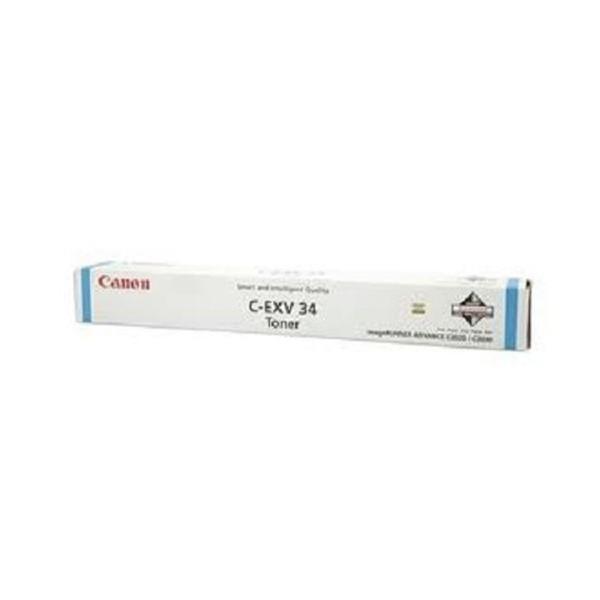 Canon C-EXV 34 Toner laser 19000pagine Ciano