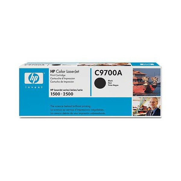 HP C9700A Laser cartridge 5000pagine Nero cartuccia toner e laser