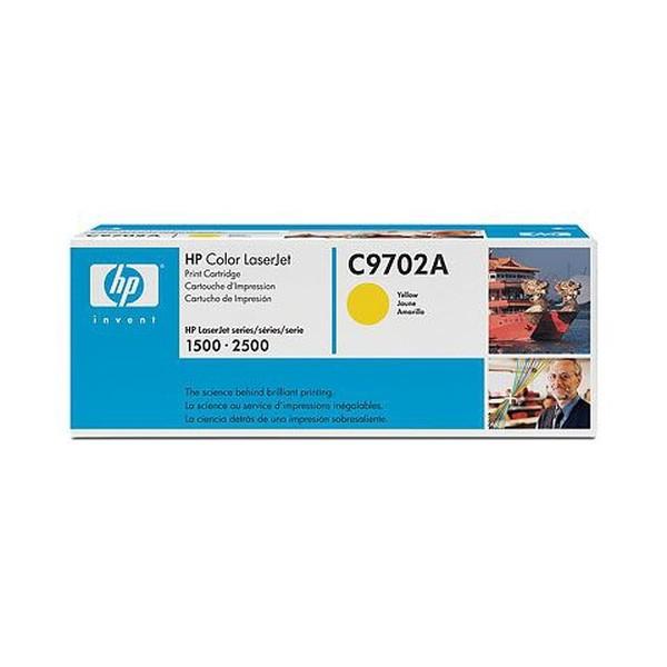 HP C9702A Laser cartridge 4000pagine Giallo cartuccia toner e laser