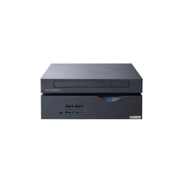 ASUS VivoMini VC66-B048Z 2.4GHz i5-7400T PC di dimensione 2L Nero Mini PC PC/stazione di lavoro