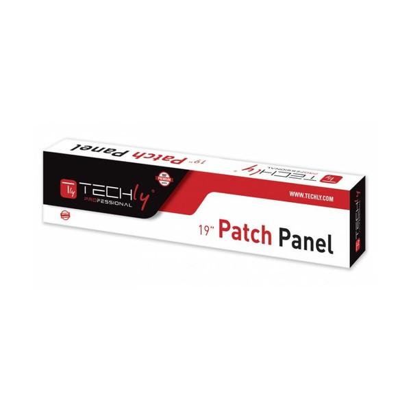 Techly Pannello Patch UTP 16 Posti RJ45 Cat.6 (I-PP 16-RU-C6T)