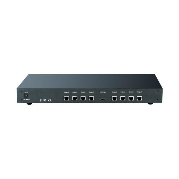 Techly Splitter/Amplificatore HDMI 1 IN 8 OUT su Cat.5 (IDATA HDMI-8C5)