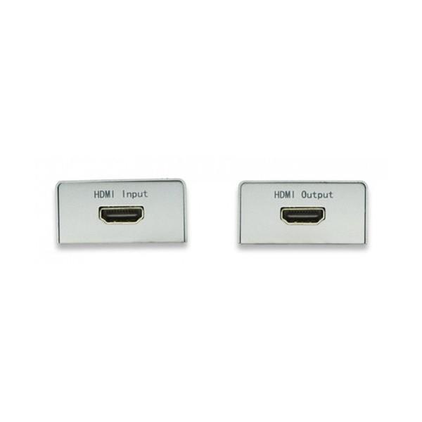 Techly IDATA EXT-E60 AV transmitter & receiver Bianco moltiplicatore AV